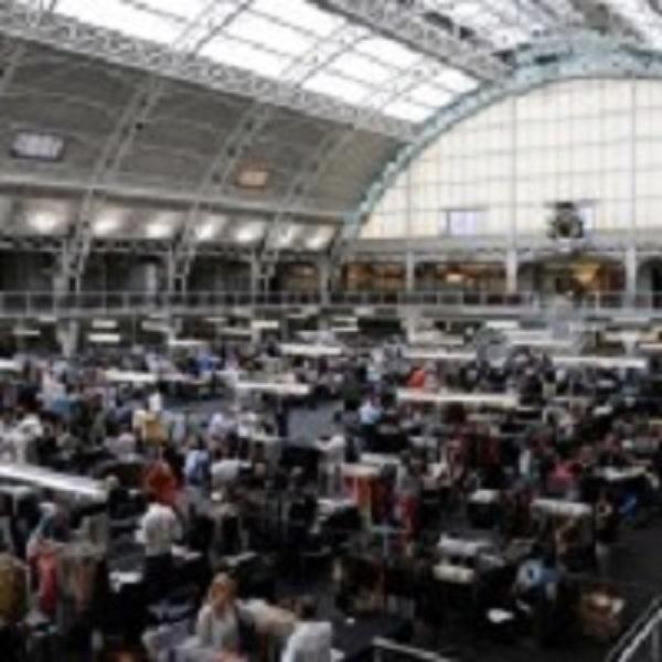 The London textile fair
